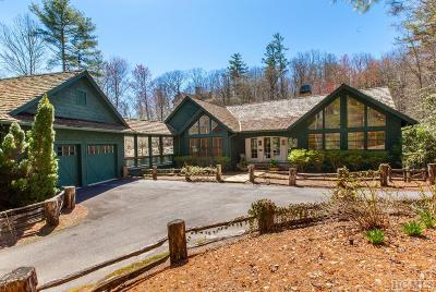 Lake Toxaway Single Family Home For Sale: 518 Cardinal Drive West