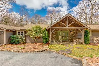 Wildcat Cliffs Cc Single Family Home For Sale: 661 Whiteside Mountain Road