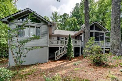 Sapphire Single Family Home For Sale: 172 Rushing Springs Lane