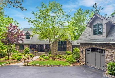 Lake Toxaway Single Family Home For Sale: 527 Toxaway Drive
