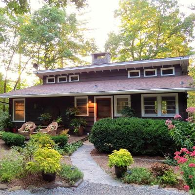 Highlands Single Family Home For Sale: 135 Sequoyah Ridge Road