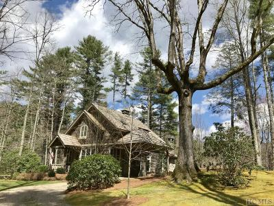 Cashiers Single Family Home For Sale: 52 Gorge Trail Road