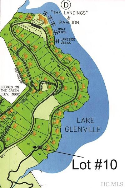 Cashiers Residential Lots & Land For Sale: Lot #10 New Trillium Way