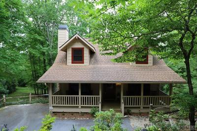 Sapphire Single Family Home For Sale: 211 High Rock Vista