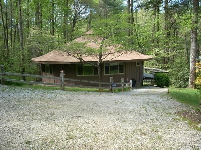 Cashiers Single Family Home For Sale: 63 Sandy Branch Road