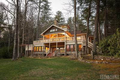 Lake Toxaway Single Family Home For Sale: 2012 West Club Blvd