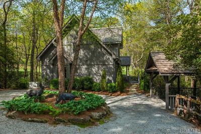 Lake Toxaway Single Family Home For Sale: 589 Seminole Way