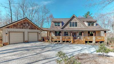 Sapphire Single Family Home For Sale: 108 S Rough Bark Road
