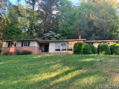 Cashiers Single Family Home For Sale: 451 Hwy 107s