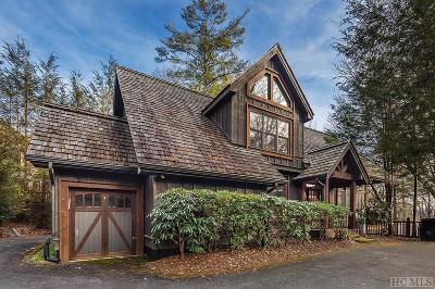 Lake Toxaway Single Family Home For Sale: 111 Ivy Ridge Road
