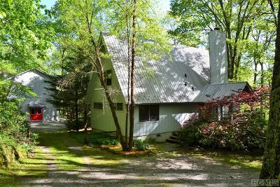 Cashiers Single Family Home For Sale: 496 Sparkle Ridge