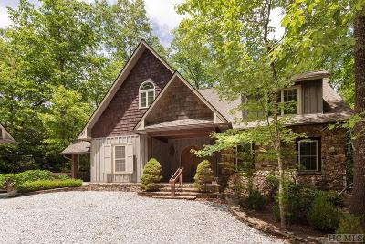 Sapphire Single Family Home For Sale: 461 Gold Creek Road