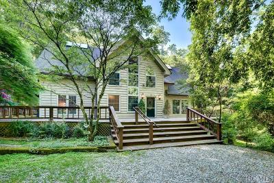Cashiers Single Family Home For Sale: 872 Wayfaring Road
