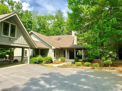Sapphire Single Family Home For Sale: 2078 Upper Whitewater Road