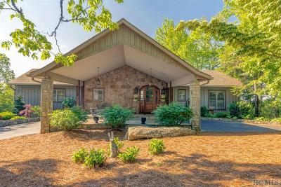 Highlands Single Family Home For Sale: 851 Cowee Ridge Road