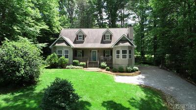 Lake Toxaway Single Family Home For Sale: 1248 Fairway Drive