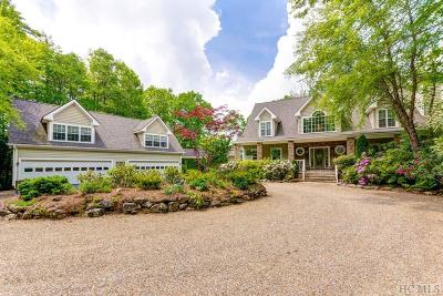Wildcat Cliffs Cc Single Family Home For Sale: 441 Whiteside Mountain Road