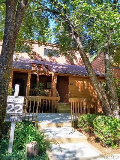 Sapphire Condo/Townhouse For Sale: 228 Emerald Ridge Road #59