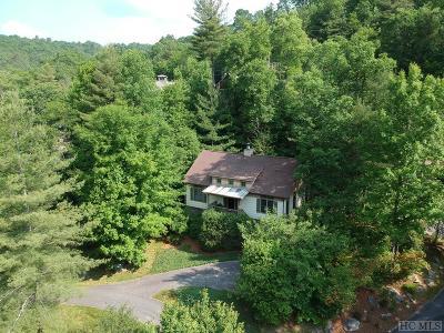 Wildcat Cliffs Cc, Trillium High, Trillium Links, Trillium Place, Highlands Falls Cc, Highlands Cc, Wade Hampton, Cullasaja Club, Mountain Top - Franklin Single Family Home For Sale: 53 Green Haven