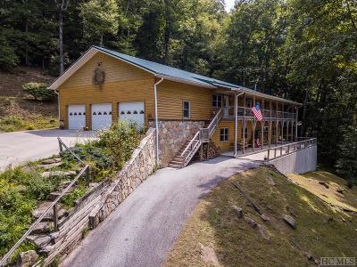 Scaly Mountain Single Family Home For Sale: 325 Bob Long Mountain Road
