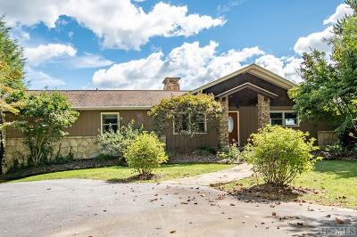 Highlands Single Family Home For Sale: 394 Old Orchard Road