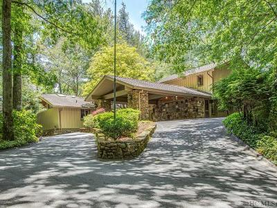 Lake Toxaway Single Family Home For Sale: 907 North Club Blvd