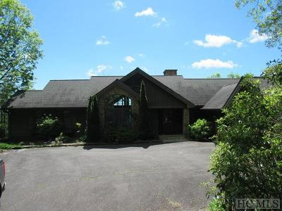 Lake Toxaway Single Family Home For Sale: 100 Meadow Ridge