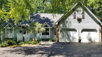 Sapphire Single Family Home For Sale: 58 Mossy Rock Road