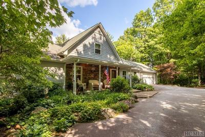 Sapphire Single Family Home For Sale: 383 Trays Island Road