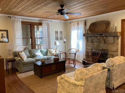 Highlands Single Family Home For Sale: 546 Franklin Road