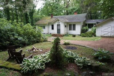 Highlands Single Family Home For Sale: 781 Foreman Road