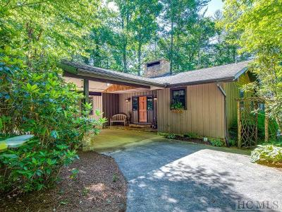 Lake Toxaway Single Family Home For Sale: 145 Island Point Road