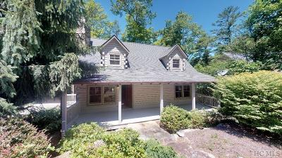 Cashiers Single Family Home For Sale: 257 Catesby Trail