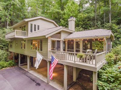 Sapphire Single Family Home For Sale: 318 Gold Creek Road