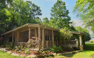 Lake Toxaway Single Family Home For Sale: 77 Island Point Road