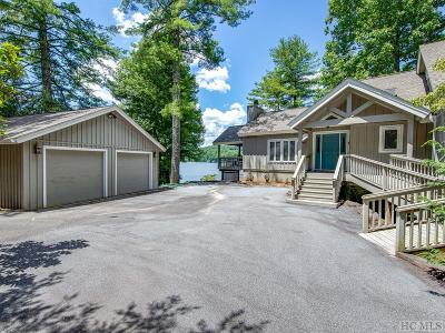 Lake Toxaway Single Family Home For Sale: 595 Blue Ridge Road