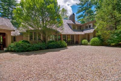 Cashiers Single Family Home For Sale: 285 Gristmill Ridge