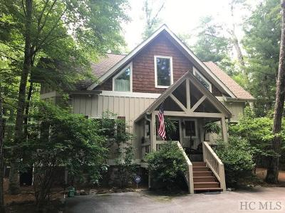 Sapphire Single Family Home For Sale: 110 Eagle Ridge Road