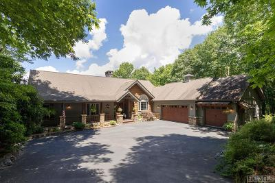 Cashiers Single Family Home For Sale: 49 Craggy Creek Point