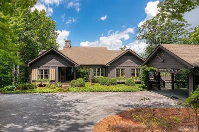 Lake Toxaway Single Family Home For Sale: 84 Summit Ridge Rd