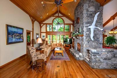 Lake Toxaway Single Family Home For Sale: 1338 Fairway Drive