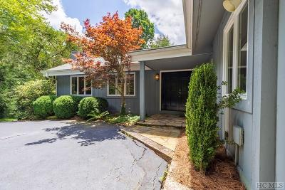 Cashiers Single Family Home For Sale: 479 Azalea Lane