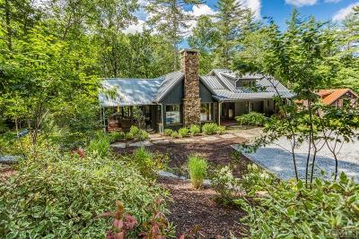 Sapphire Single Family Home For Sale: 740 East Valley Drive