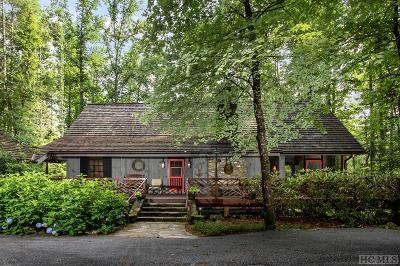 Cashiers Single Family Home For Sale: 57 Partridge Berry Lane