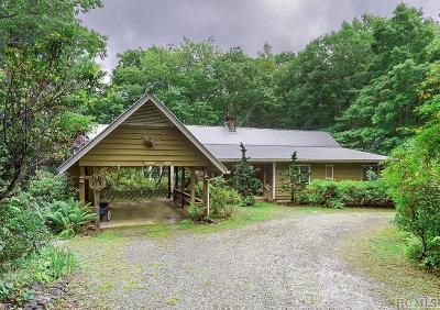 Highlands Single Family Home For Sale: 411 Nall Farm Road
