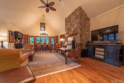 Wildcat Cliffs Cc, Trillium High, Trillium Links, Trillium Place, Highlands Falls Cc, Wade Hampton, Cullasaja Club, Mountaintop Golf Single Family Home For Sale: 38 Ridges Loop