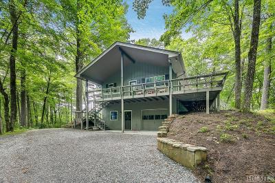 Lake Toxaway Single Family Home For Sale: 880 North Club Blvd