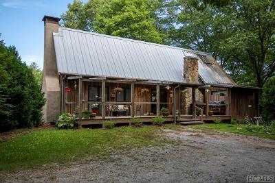 Scaly Mountain Single Family Home For Sale: 442 Rabun Branch Road