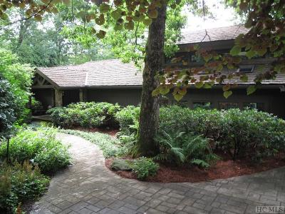 Highlands Falls Cc Single Family Home For Sale: 469 Sky Lake Drive