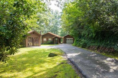Scaly Mountain Single Family Home For Sale: 532 Rabun Branch Road